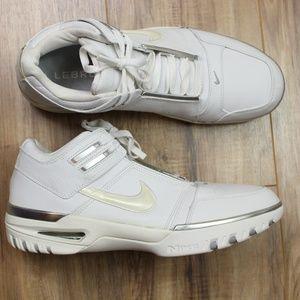 Nike Air Zoom Generation LeBron white silver